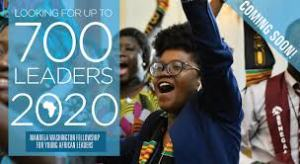 Mandela Washington Fellowship for Young African Leaders 2020