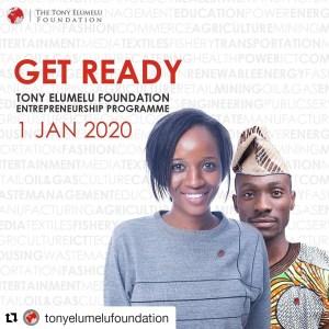 Tony Elumelu Foundation (TEF) Entrepreneurship Programme | Application to Open on January 1st, 2020