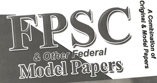 FPSC All Past Papers Download