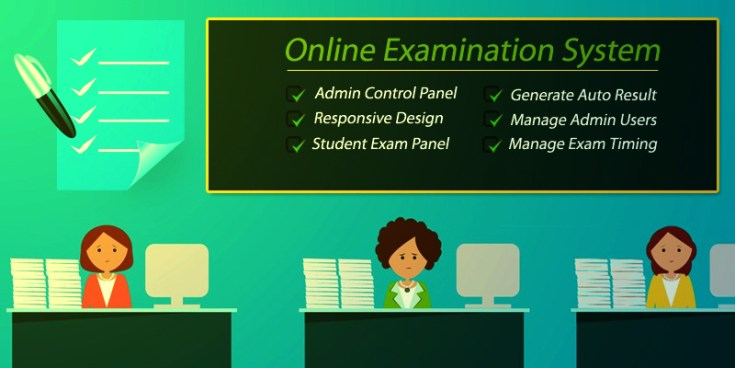 What is online examination