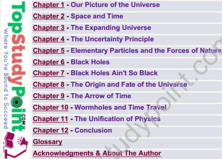 A Brief History of Time By Stephen Hawking Full Book Download