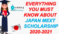 MEXT Japanese Government Scholarship 2020-21