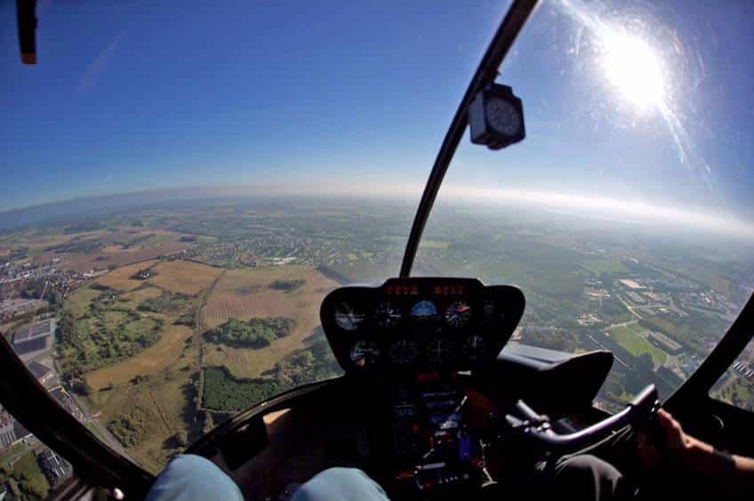 Flyv i helikopter
