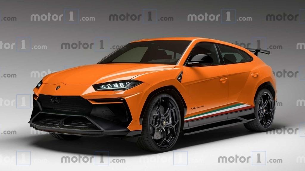 2021 Lamborghini Urus Spy Shots