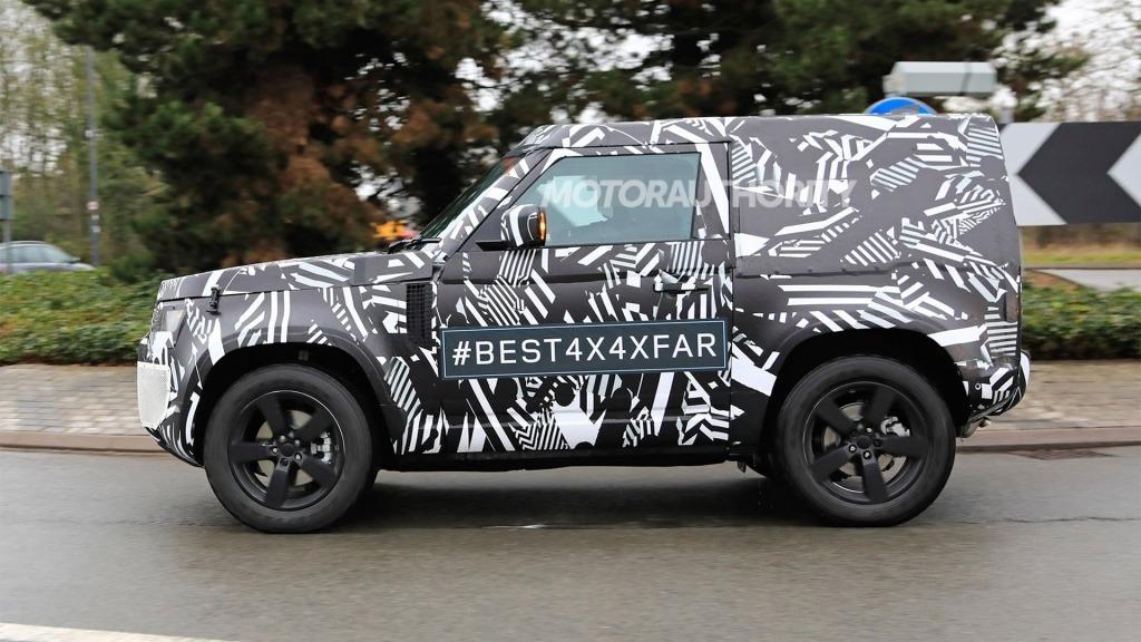 2021 Land Rover Defender Spy Photos