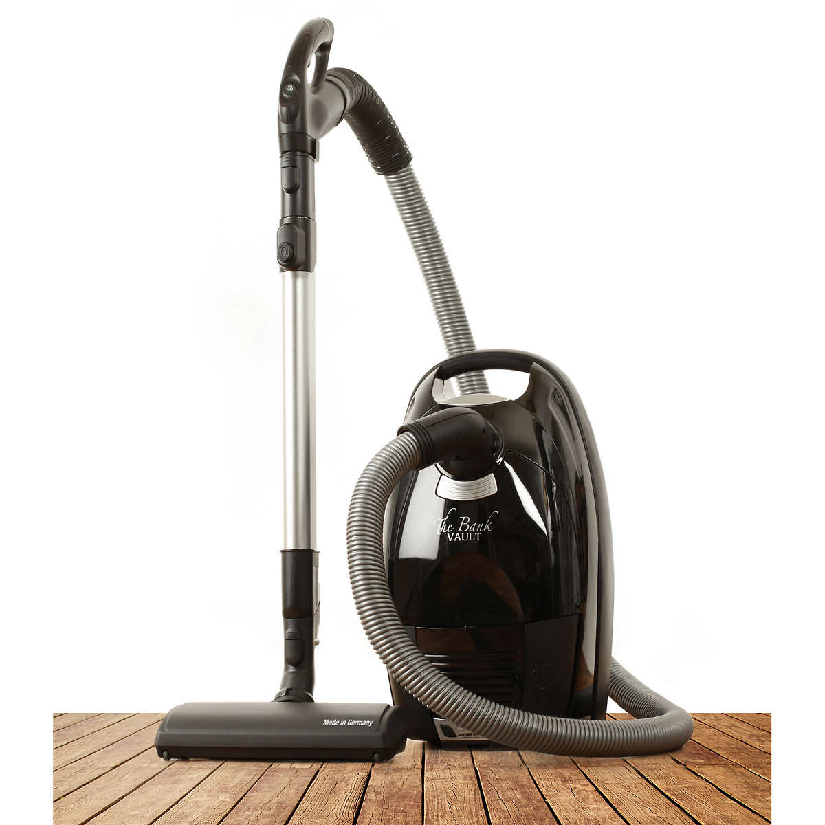 The Bank Vault Canister Vacuum Cleaner  Tops Vacuum