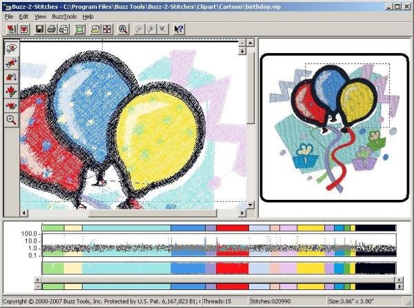 Buzz Tools Buzz-2-Stitches Auto-Digitizing Software