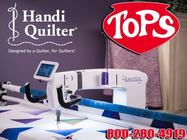 The HQ Amara 20 Longarm Quilter