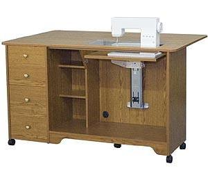 Horn Of America 5680AL Elite Airlift Sewing Cabinet / Cutting Table