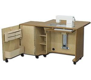 Horn Of America 5239AL Elite Airlift Compact Sewing Cabinet