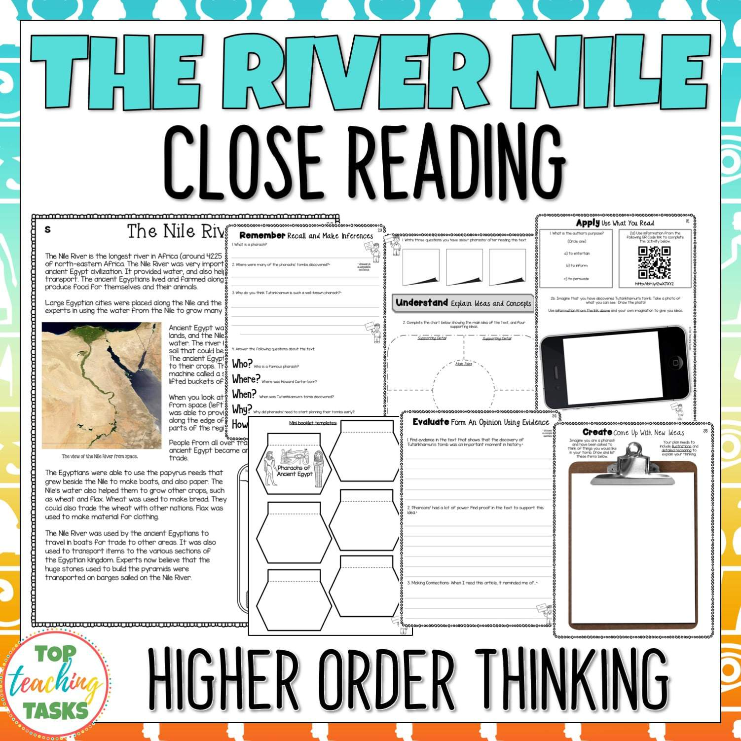 The River Nile Reading Comprehension Passages And Questions