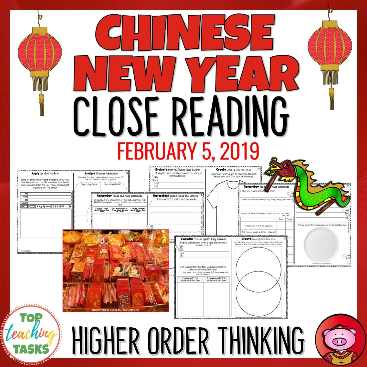 Chinese New Year Reading Comprehension Passages And