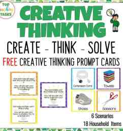Creative Thinking Activities for Students   Top Teaching Tasks [ 1024 x 1024 Pixel ]