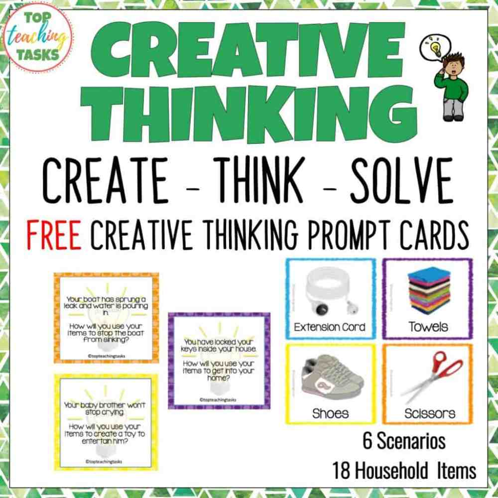 medium resolution of Creative Thinking Activities for Students   Top Teaching Tasks