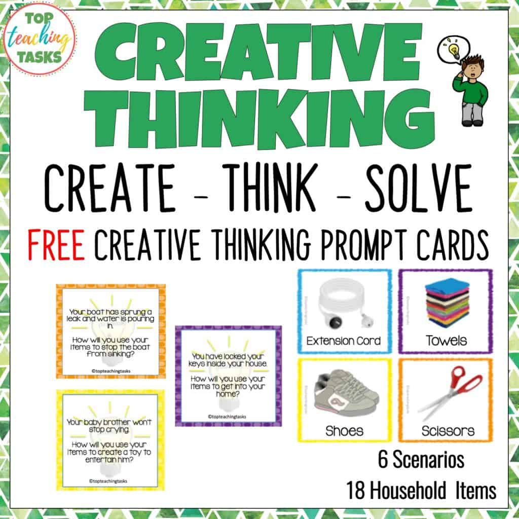 hight resolution of Creative Thinking Activities for Students   Top Teaching Tasks