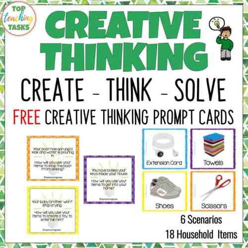 small resolution of Creative Thinking Activities for Students   Top Teaching Tasks