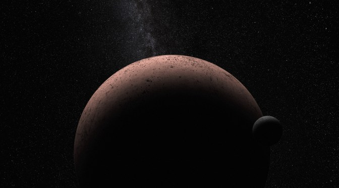 New moon discovered around dwarf planet Makemake