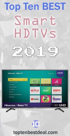 top ten best smart hdtv 2019 pin - 10 Best Smart TVs in 2019