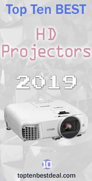 top ten best hd projectors 2019 pin - 10 Best HD Projectors 2019