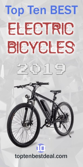 Top Ten Best Electric Bicycles 2019 Pin - 10 Best Electric Bikes 2019