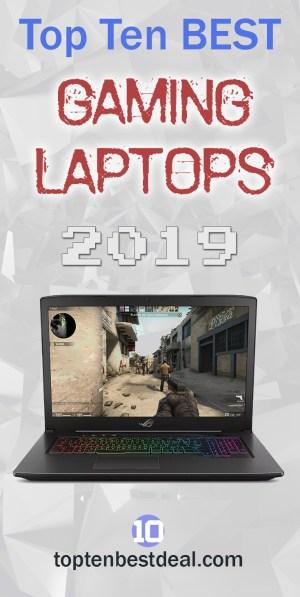 Top Ten Best Gaming Laptops 2019 Pin 1 - 10 Best Gaming Laptops 2019
