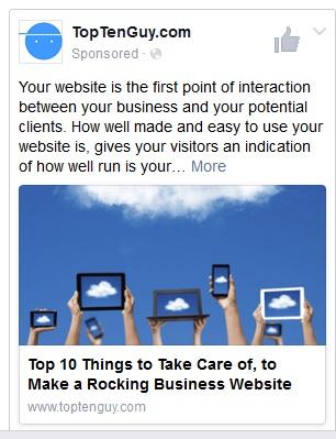 Sponsored Posts Facebook