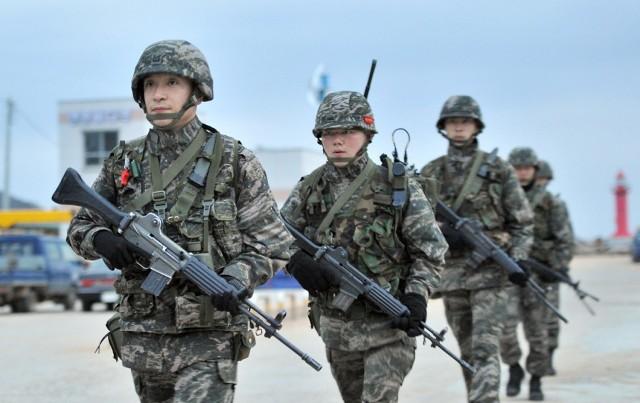 South Korean Army