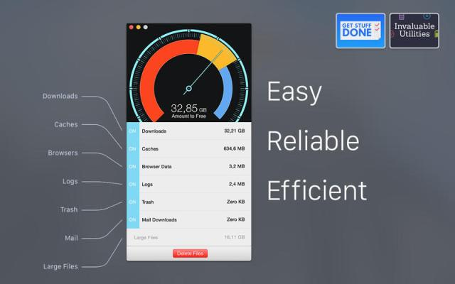 Disk Diag - Clean your hard drive with just a few clicks