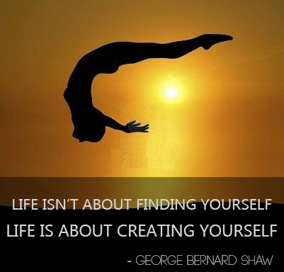 life-is-about-creating-yourself