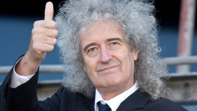 top 10 smartest celebrities brian may
