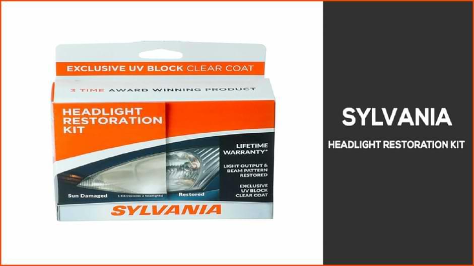 sylvania headlight restoration kit review