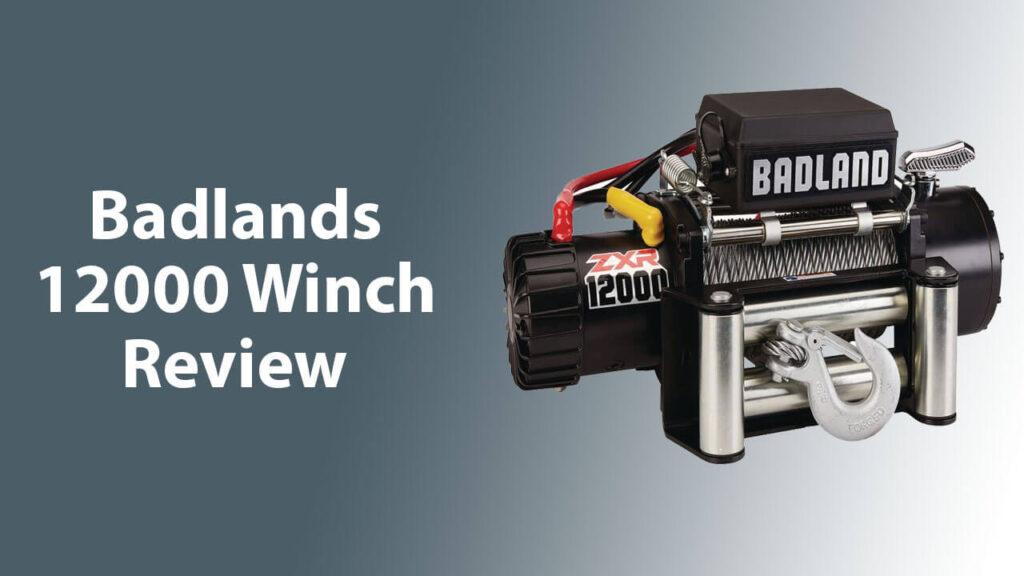 Badlands 12000 Winch