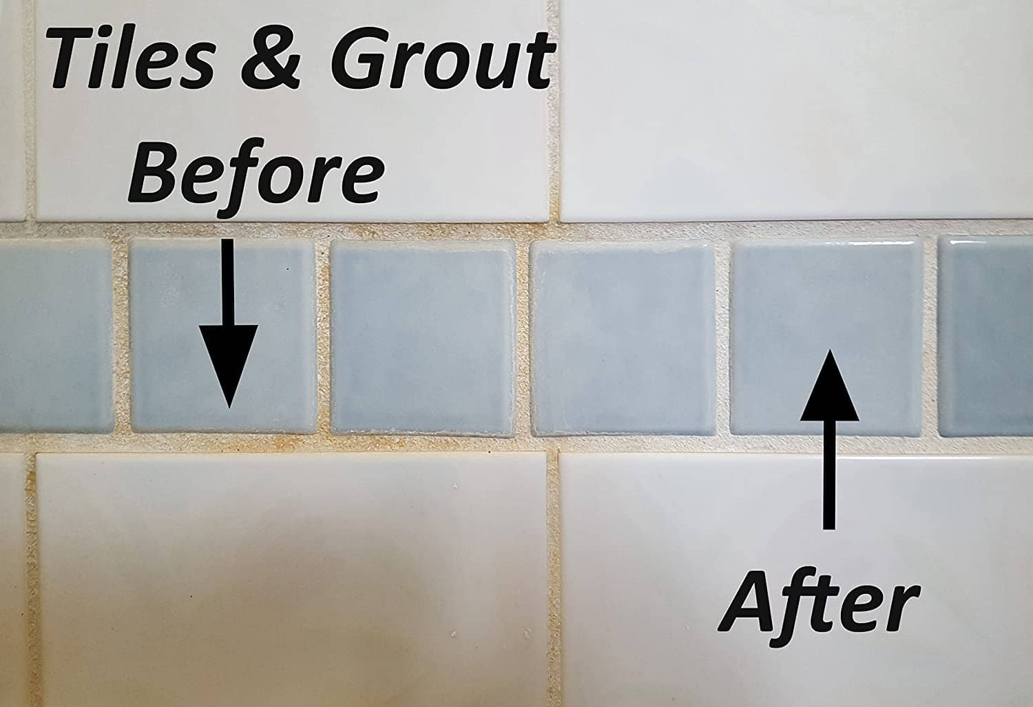 Tiles & Grout Before after