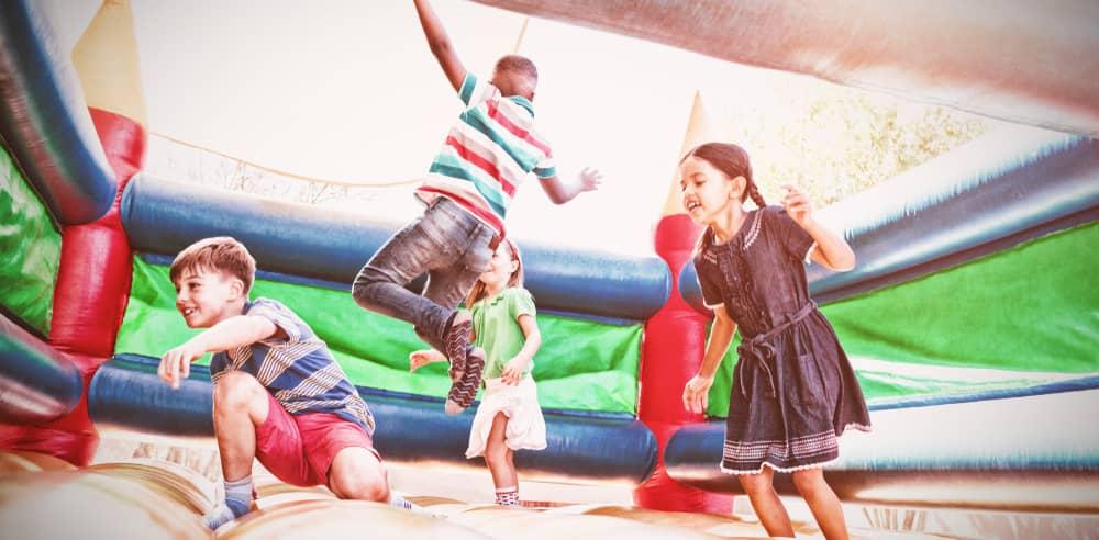 hiring a bouncy castle