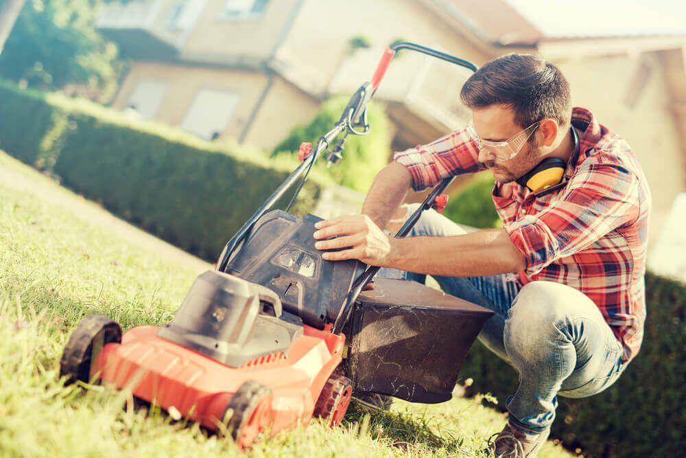 how to fix an electric lawn mower