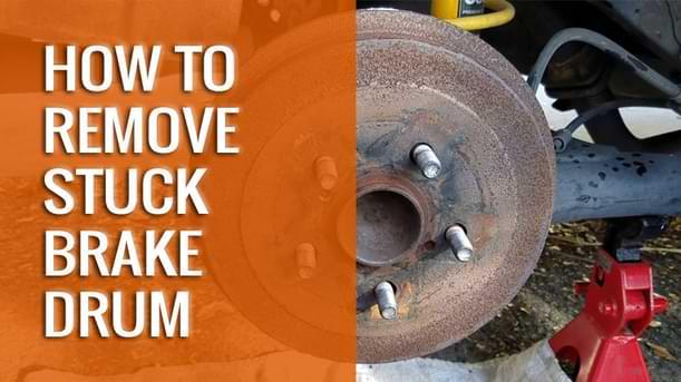 How to Remove Stuck Brake Drum