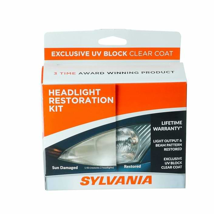 sylvania headlight restoration