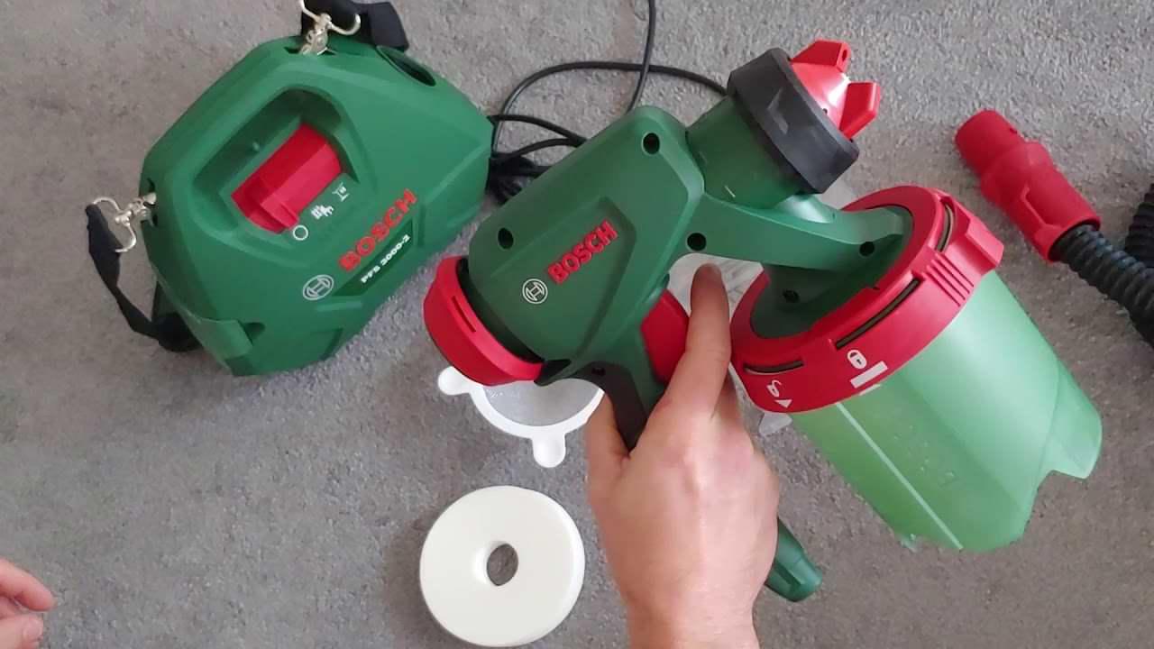 Bosch Universal PFS 3000-2 Paint Sprayer