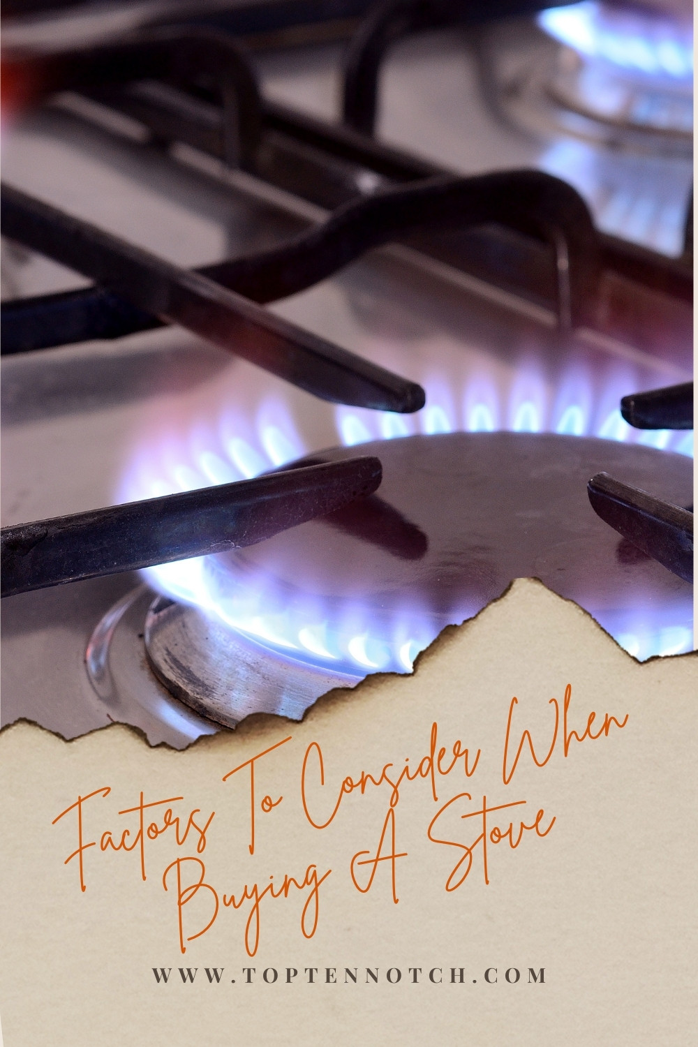 Consider When Buying Stove