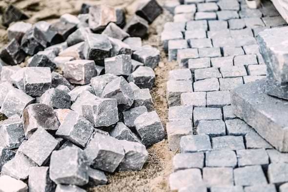 Granite is Also Used In Road And Path Construction