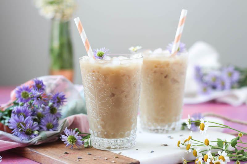 Lavender Honey Iced Tea