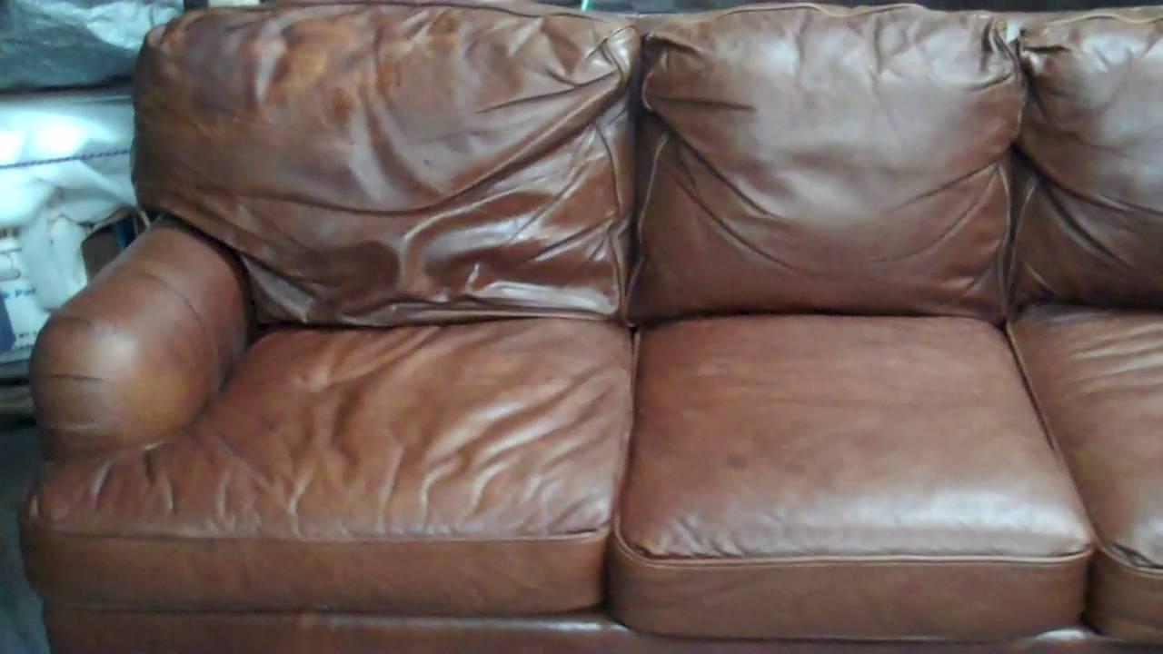 Restoring Aniline Leather