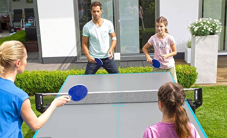 Table Tennis Improves Reflexes
