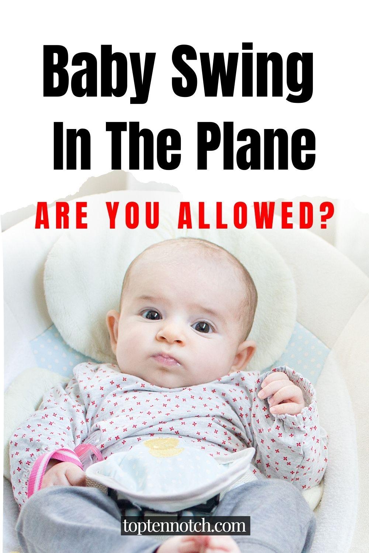 baby swing in plane
