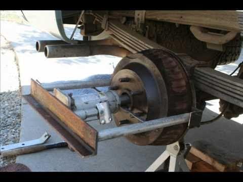 stuck brake drum
