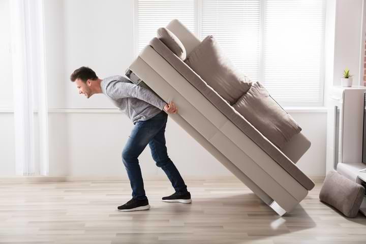 Avoid Heavy Furniture