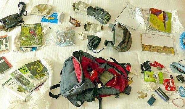 Birdwatching Equipment List