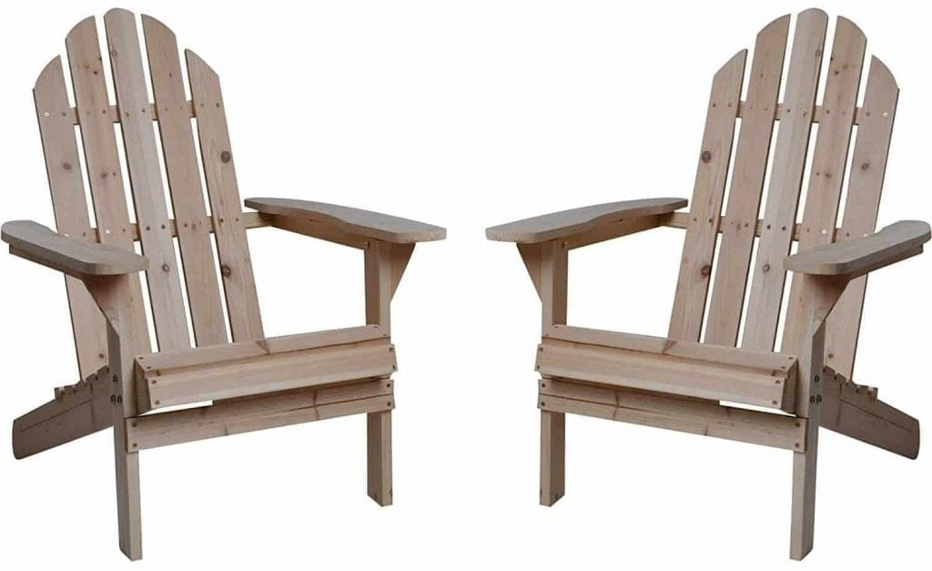 merry garden adirondack chair dog covers uk top 10 best chairs in 2019 reviews buying guide fir wood but unfinished