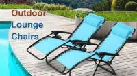 Top 10 Best Outdoor Lounge Chairs in 2018