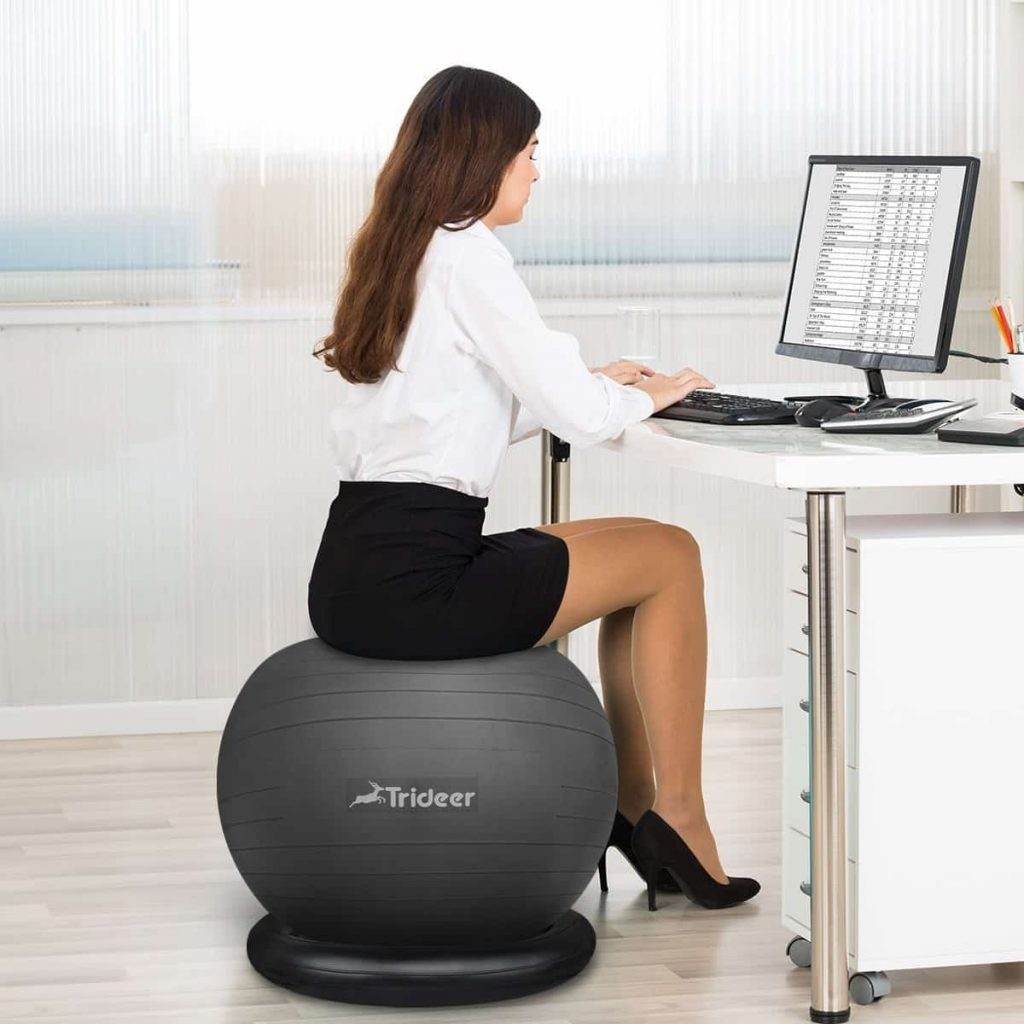 Yoga Ball Desk Chair Best Yoga Ball Chairs In 2019 Reviews